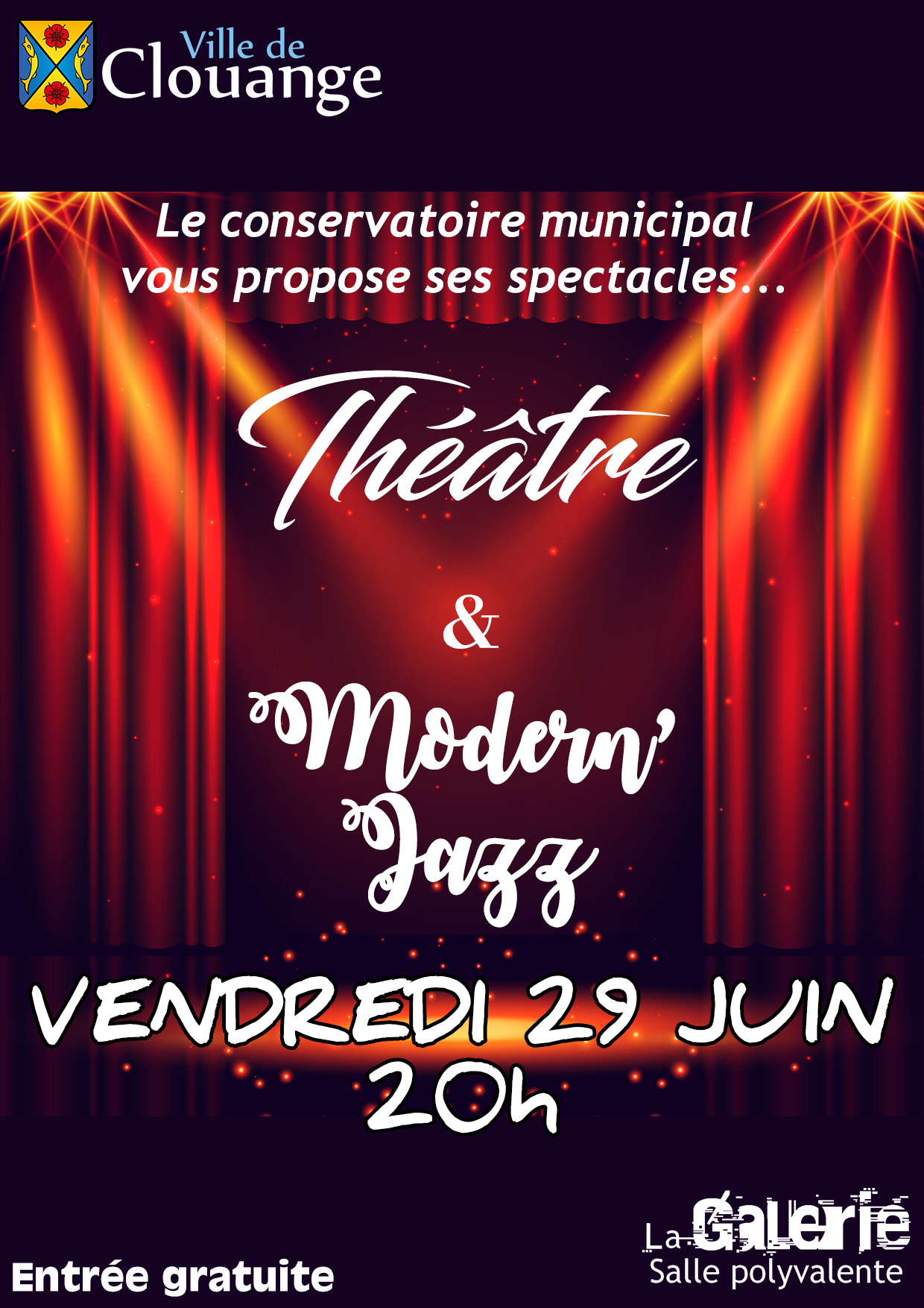 Spectacle Théâtre & Modern'Jazz